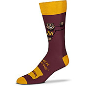 For Bare Feet Minnesota Golden Gophers Thin Crew Socks