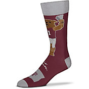 For Bare Feet Mississippi State Bulldogs Thin Crew Socks