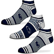 For Bare Feet Penn State Nittany Lions 3 Pack Socks