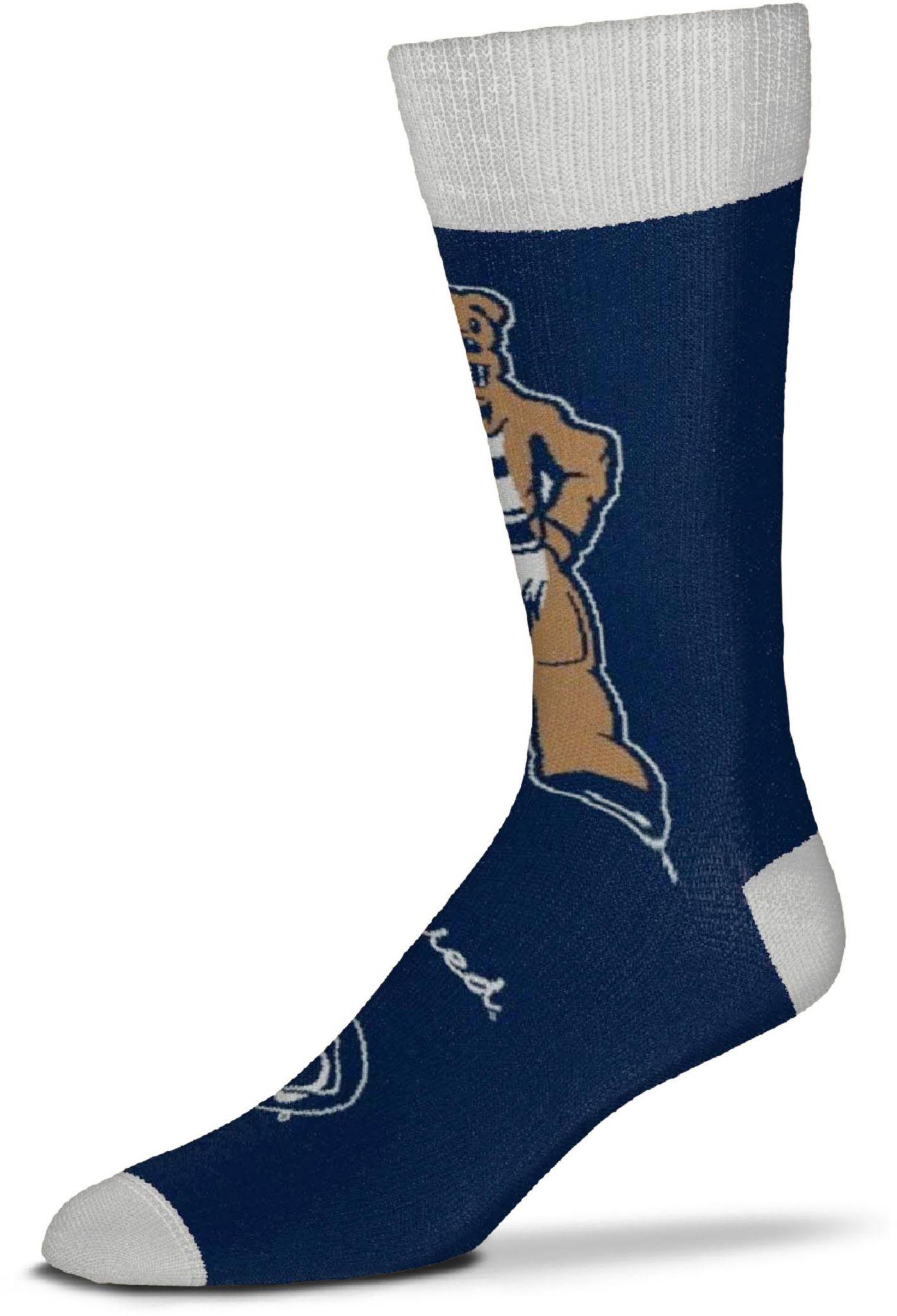 For Bare Feet Penn State Nittany Lions Thin Crew Socks