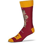 For Bare Feet USC Trojans Thin Crew Socks