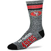 For Bare Feet San Francisco 49ers Four Stripe Deuce Socks