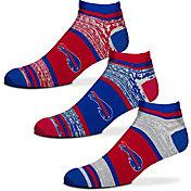 For Bare Feet Buffalo Bills 3 Pack Socks