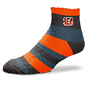 For Bare Feet Cincinnati Bengals Cozy Crew Socks