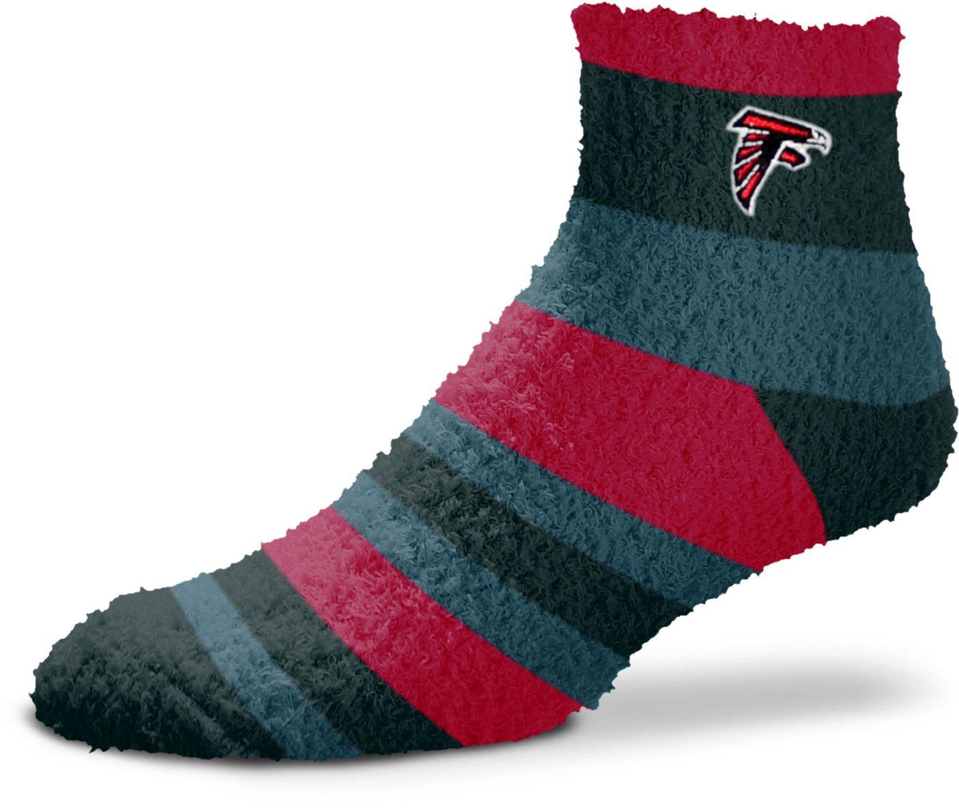For Bare Feet Atlanta Falcons Cozy Crew Socks
