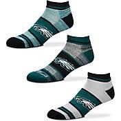 For Bare Feet Philadelphia Eagles 3 Pack Socks