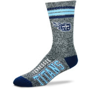 For Bare Feet Tennessee Titans Four Stripe Deuce Socks
