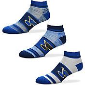 For Bare Feet St. Louis Blues 3 Pack Socks