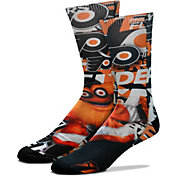 For Bare Feet Philadelphia Flyers Gritty Youth Montage Socks