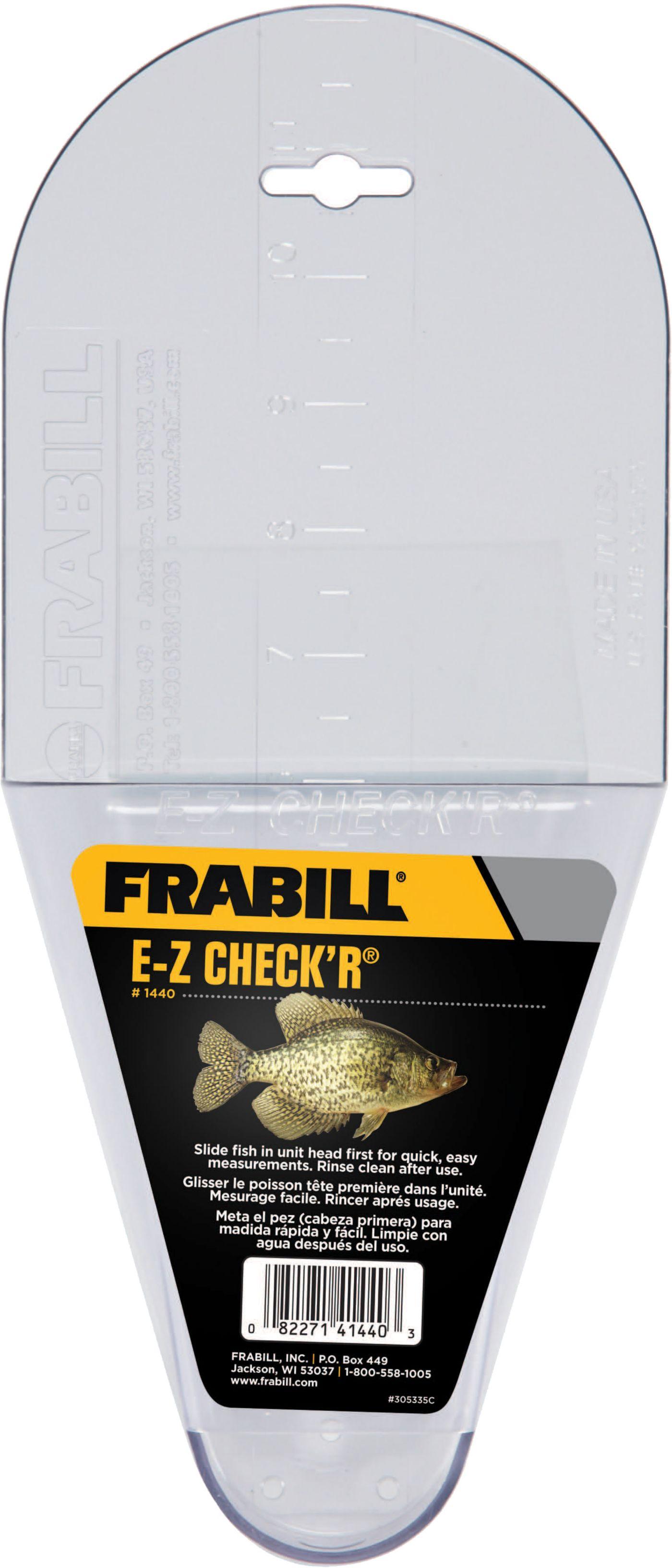 Frabill E-Z Check'R Crappie Measure