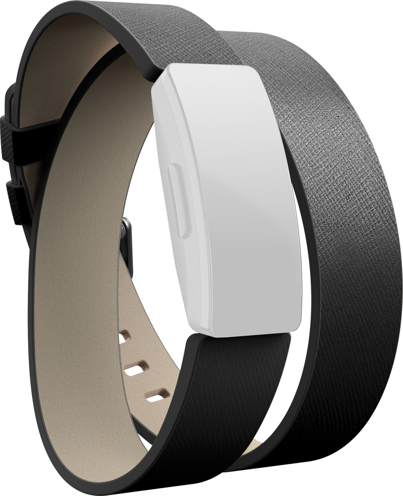 Fitbit Inspire Premium Horween Leather Double Wrap Accessory Band