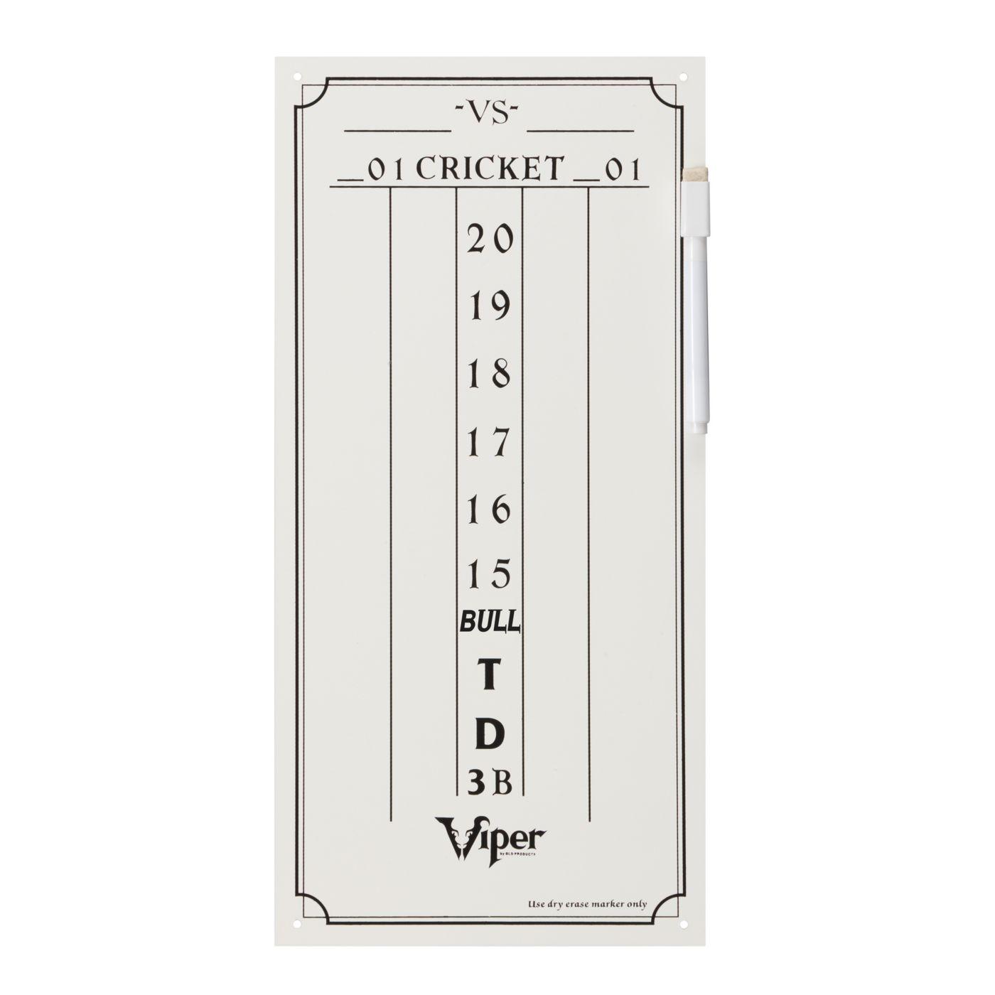 Viper Cricket Dry Erase Scoreboard