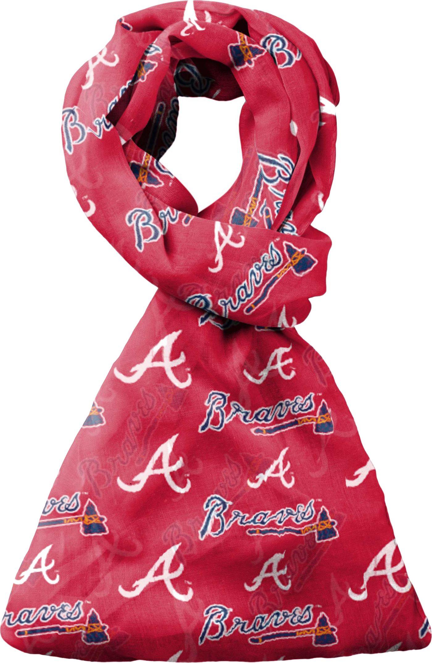FOCO Atlanta Braves Logo Infinity Scarf
