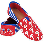 FOCO Philadelphia Phillies Striped Canvas Shoes