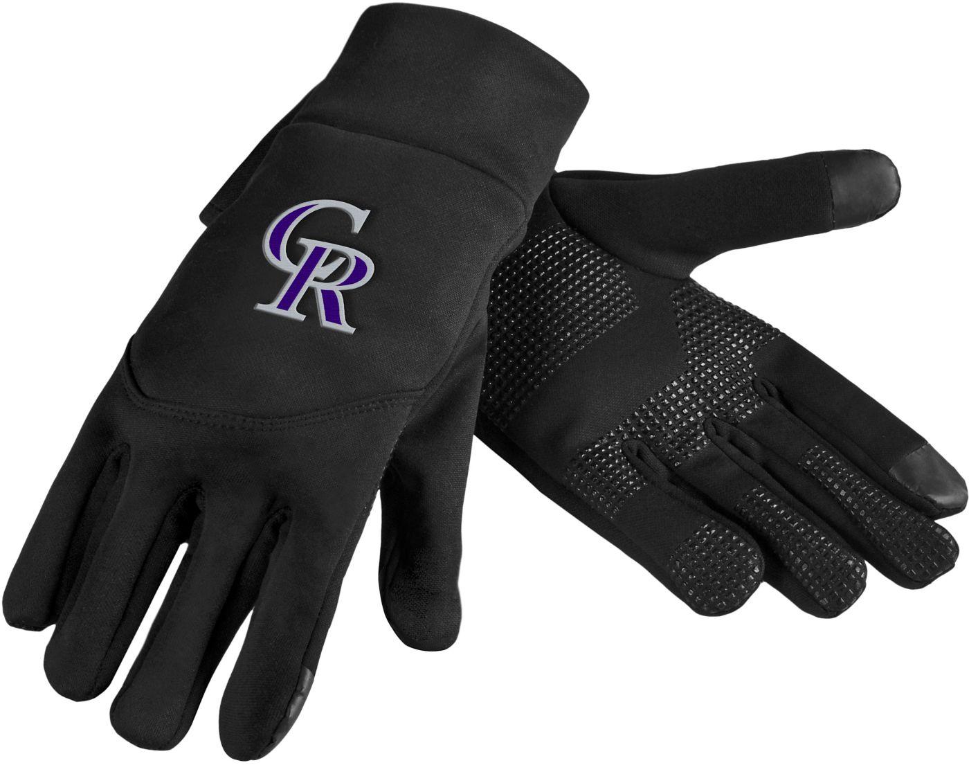 FOCO Colorado Rockies Neoprene Texting Gloves
