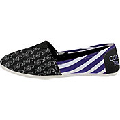 FOCO Colorado Rockies Striped Canvas Shoes