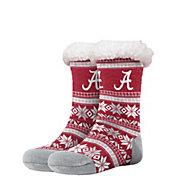 FOCO Alabama Crimson Tide Footy Slippers
