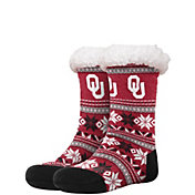 FOCO Oklahoma Sooners Footy Slippers