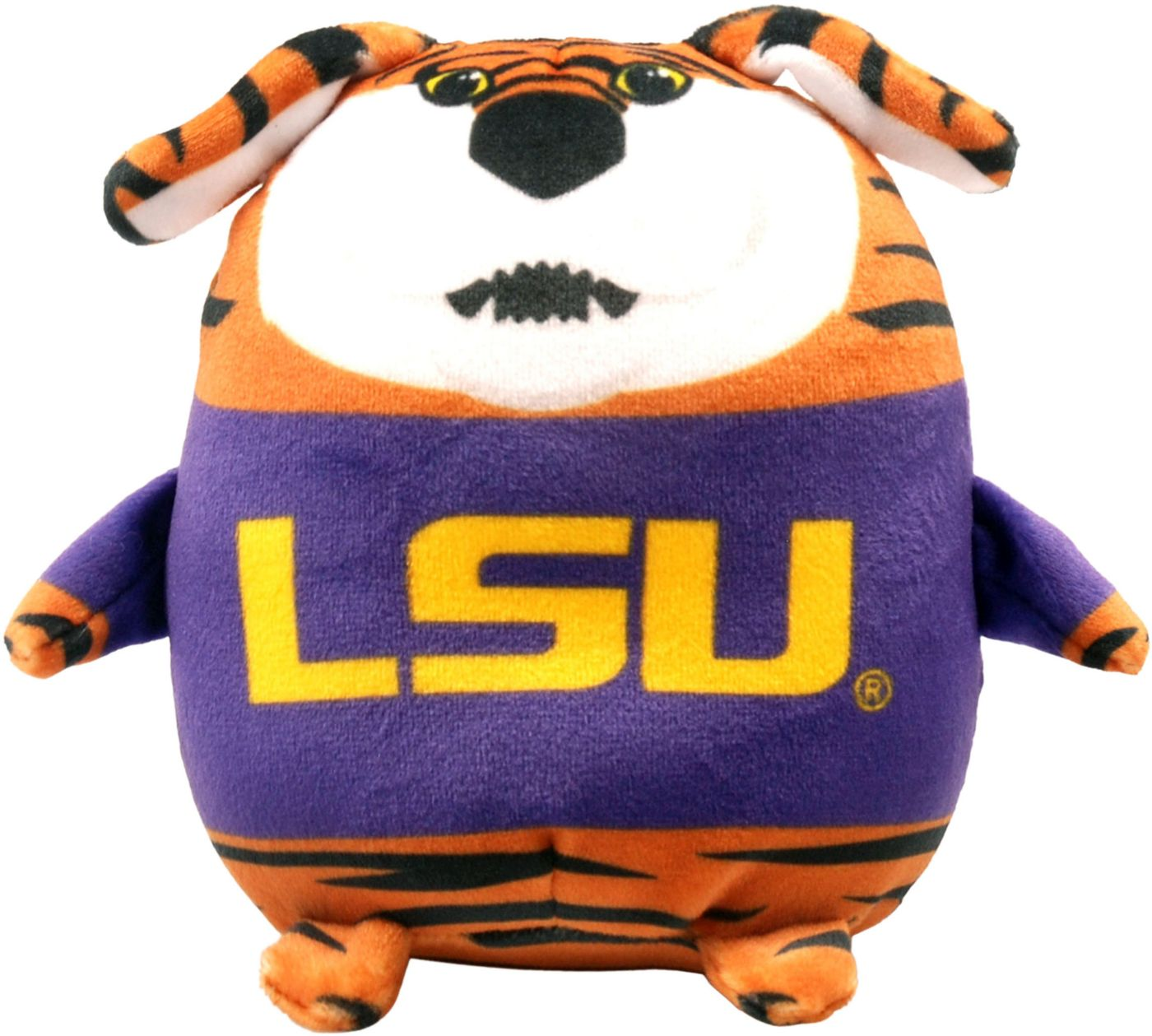 FOCO LSU Tigers Mascot  Smusher Plush