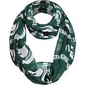 FOCO Michigan State Spartans Logo Infinity Scarf