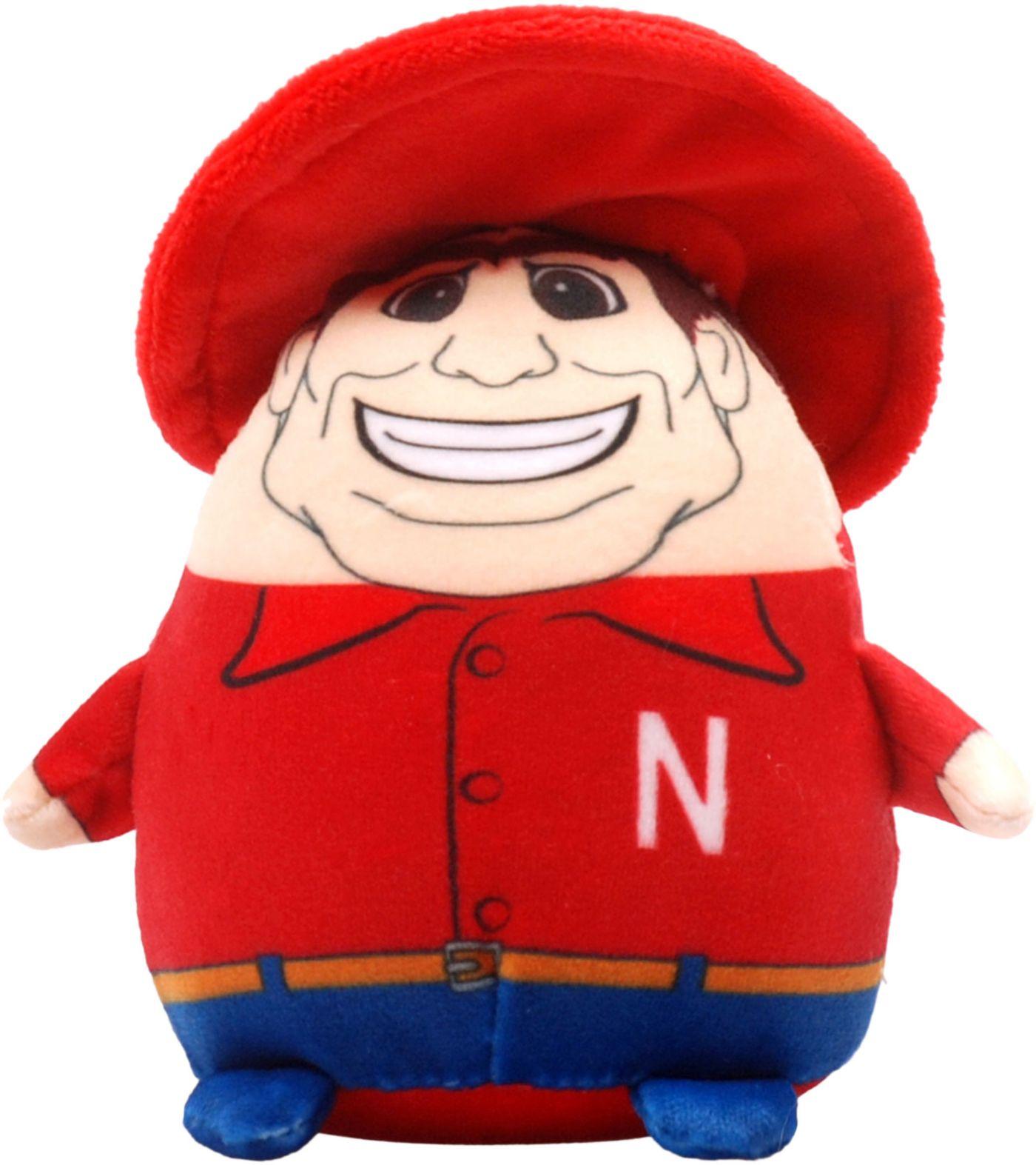 FOCO Nebraska Cornhuskers Mascot  Smusher Plush
