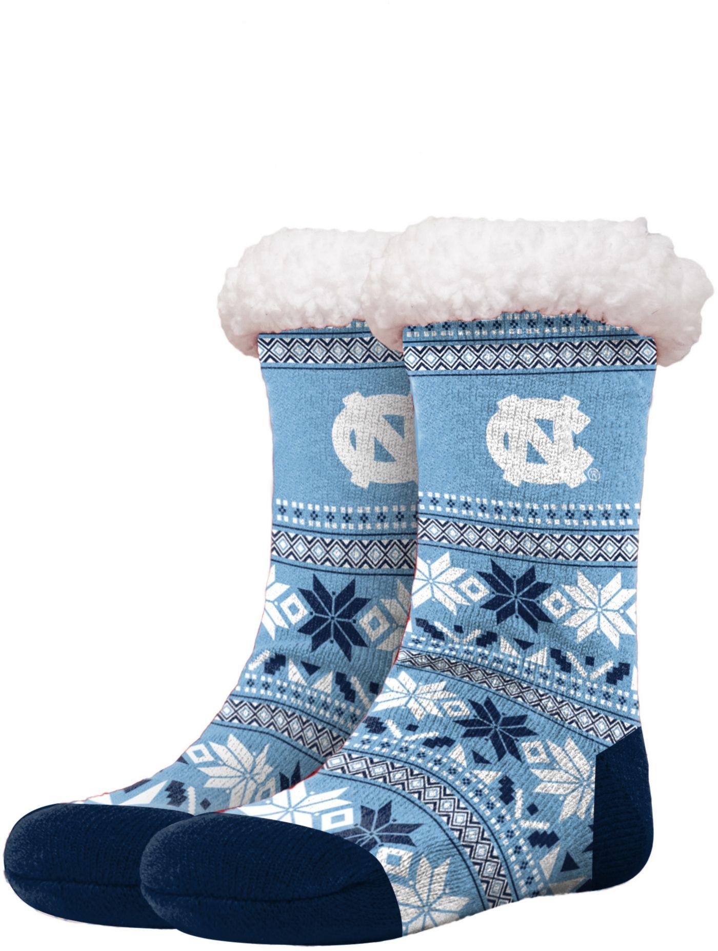 FOCO North Carolina Tar Heels Footy Slippers