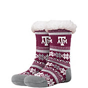 FOCO Texas A&M Aggies Footy Slippers