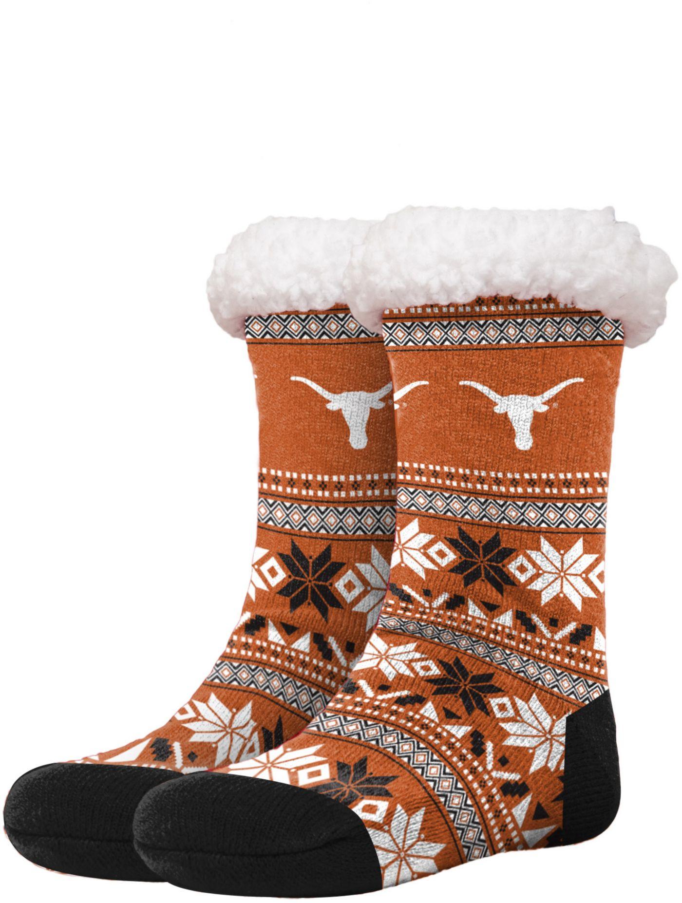FOCO Texas Longhorns Footy Slippers