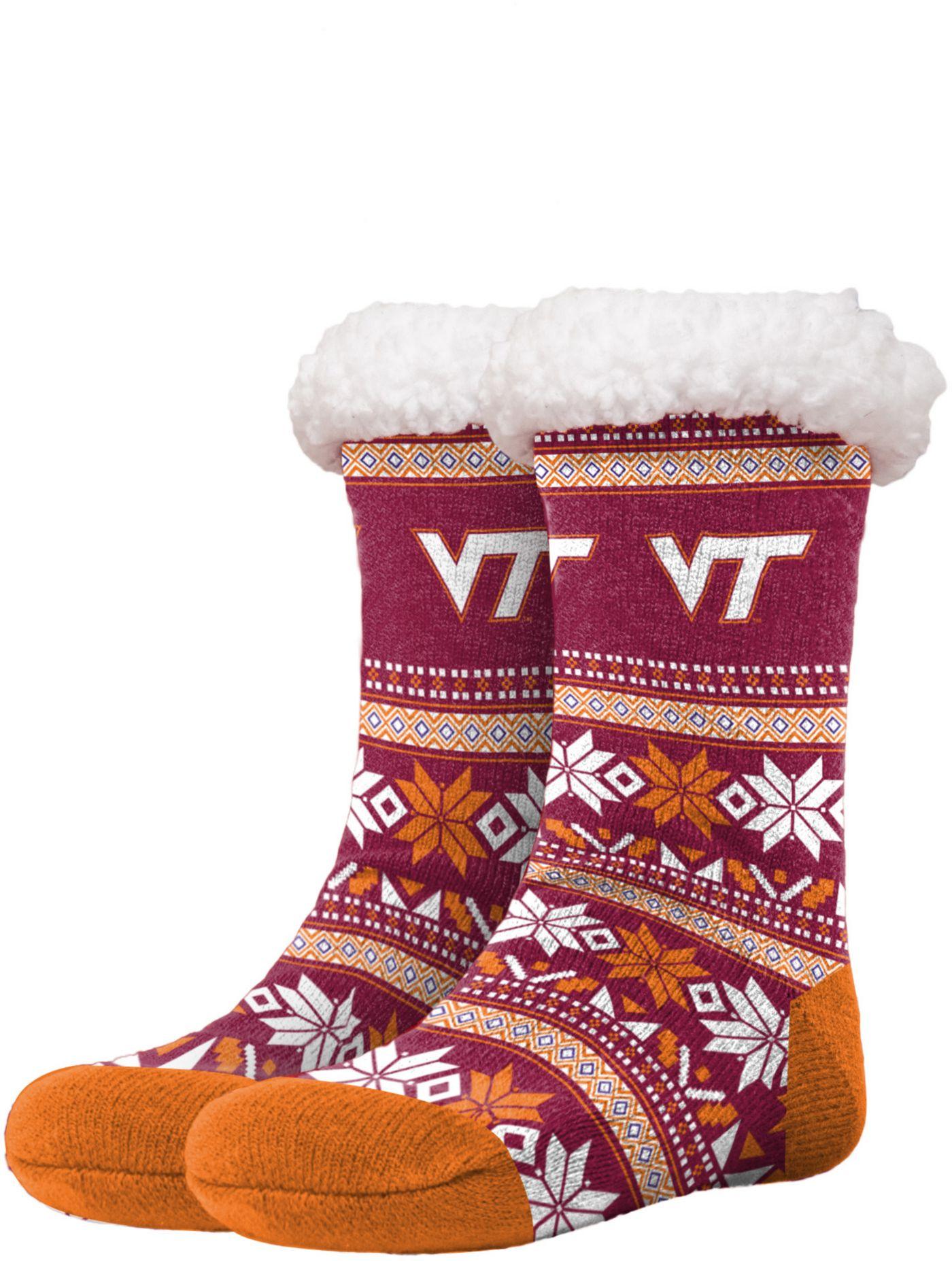 FOCO Virginia Tech Hokies Footy Slippers