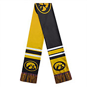 FOCO Iowa Hawkeyes Color Block Scarf