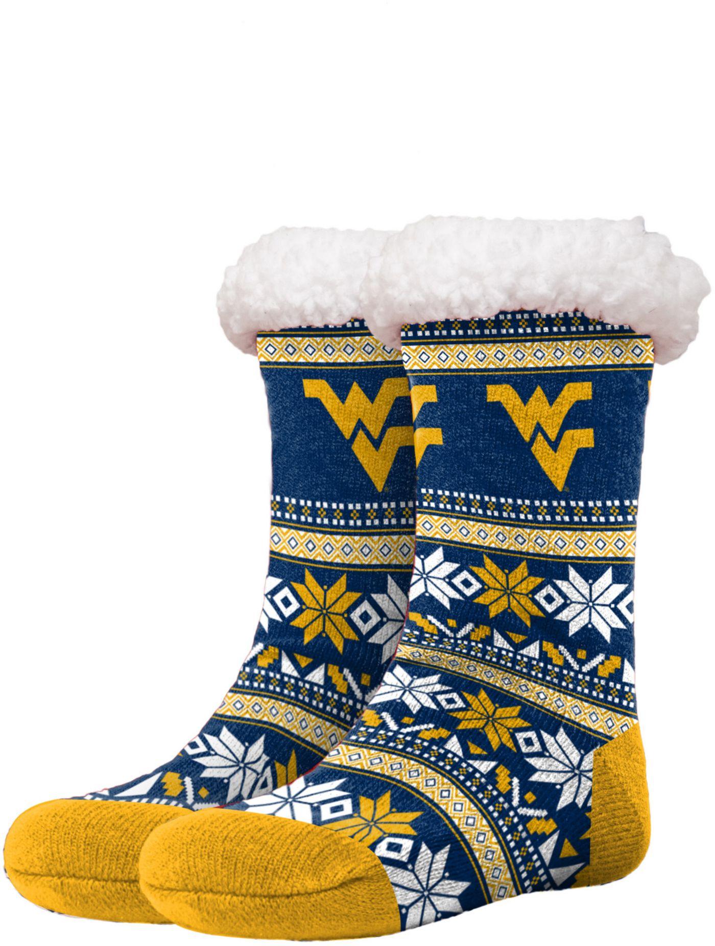 FOCO West Virginia Mountaineers Footy Slippers