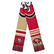 FOCO San Francisco 49ers Color Block Scarf