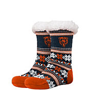 FOCO Chicago Bears Footy Slippers