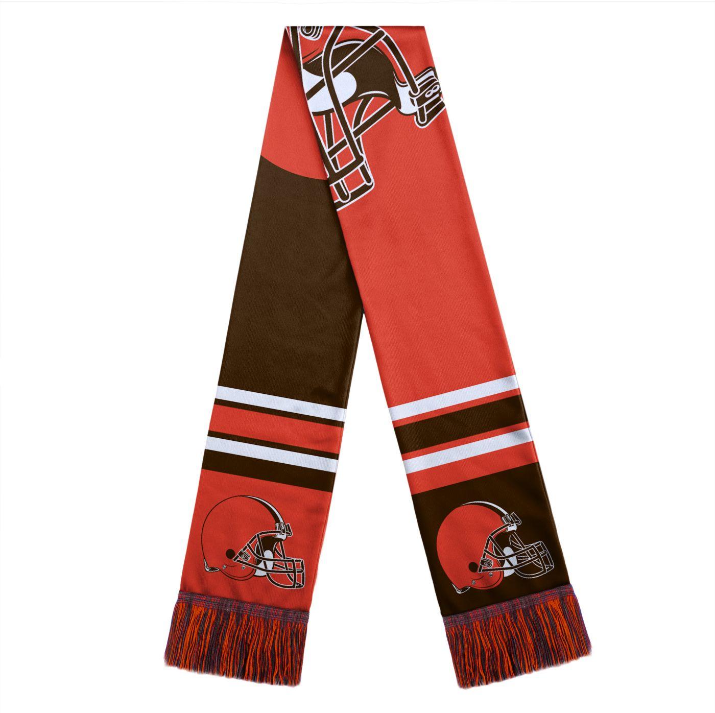 FOCO Cleveland Browns Color Block Scarf