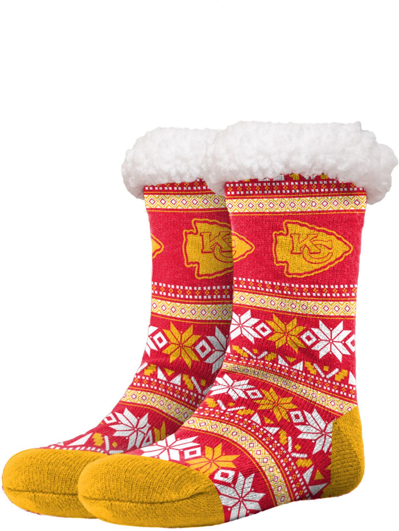 FOCO Kansas City Chiefs Footy Slippers