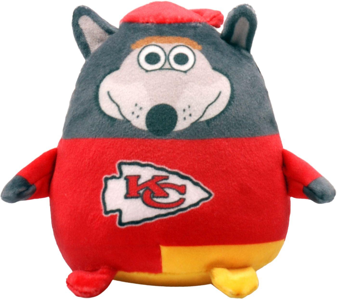 FOCO Kansas City Chiefs Mascot  Smusher Plush