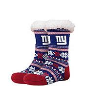 FOCO New York Giants Footy Slippers