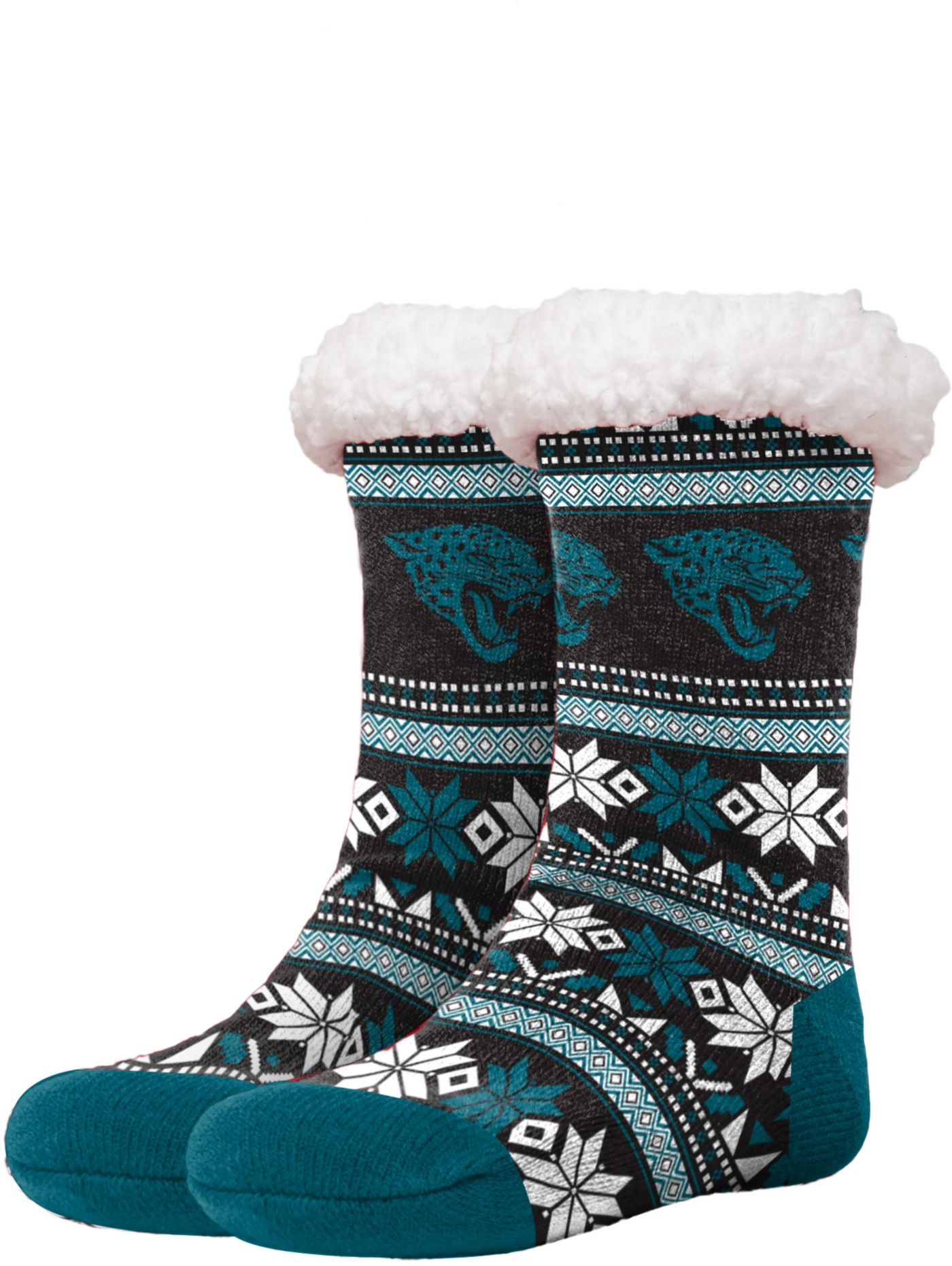 FOCO Jacksonville Jaguars Footy Slippers