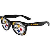 FOCO Pittsburgh Steelers Logo Sunglasses