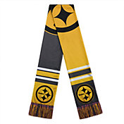 FOCO Pittsburgh Steelers Color Block Scarf