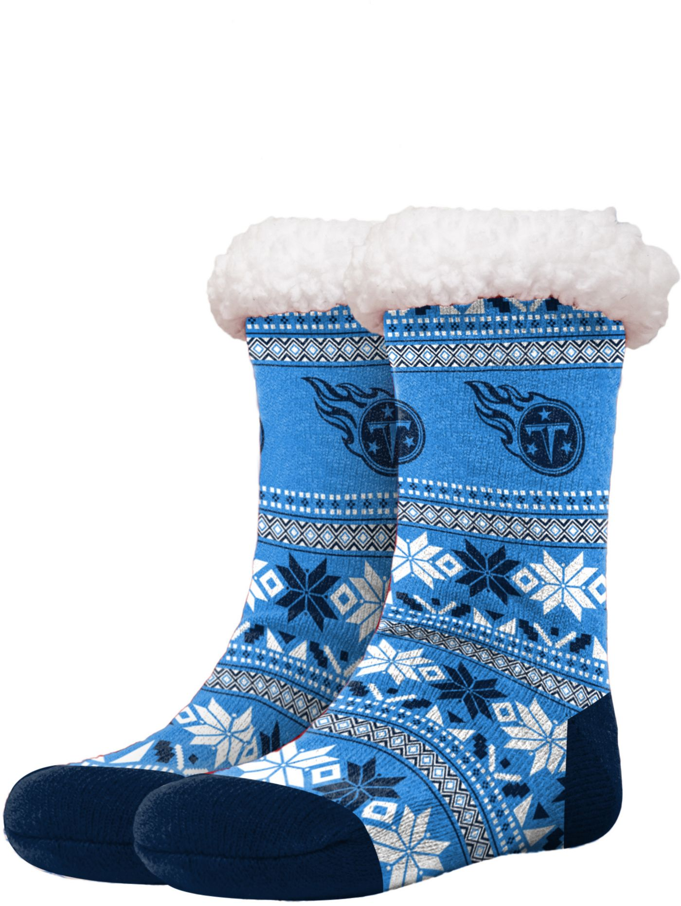 FOCO Tennessee Titans Footy Slippers