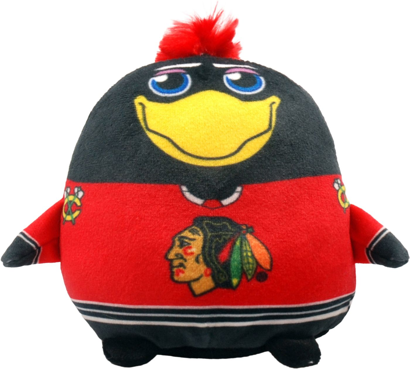 FOCO Chicago Blackhawks Mascot Smusher Plush