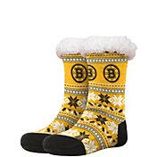 FOCO Boston Bruins Footy Slippers