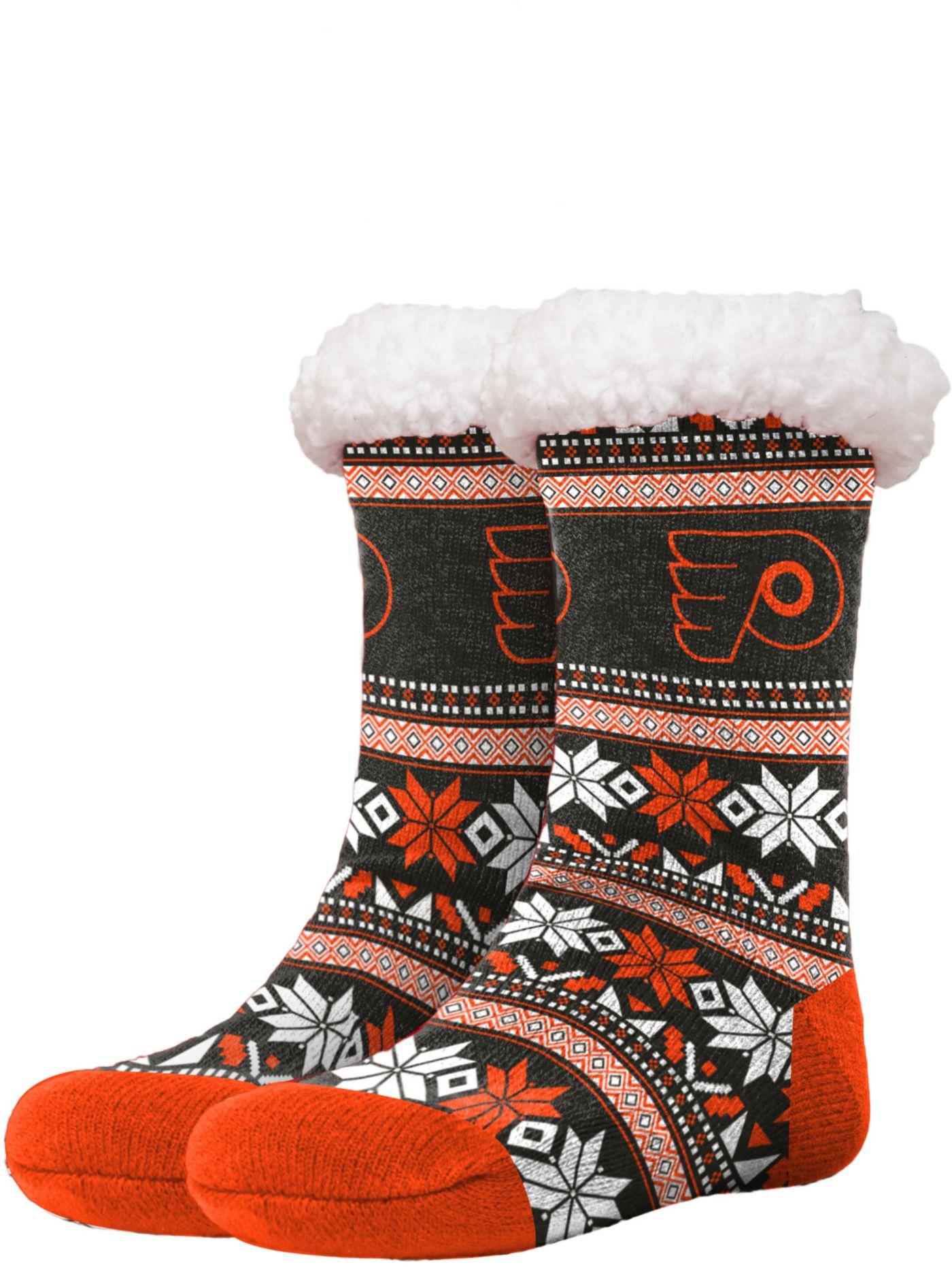FOCO Philadelphia Flyers Footy Slippers
