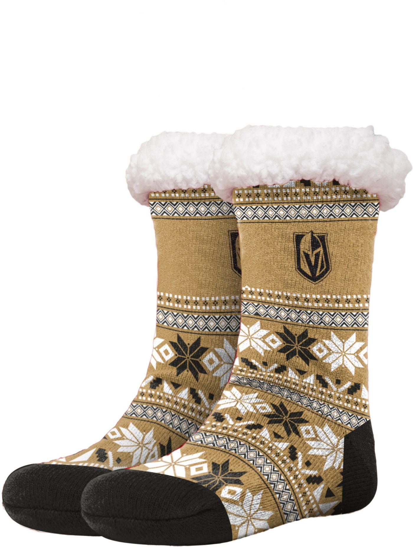 FOCO Vegas Golden Knights Footy Slippers