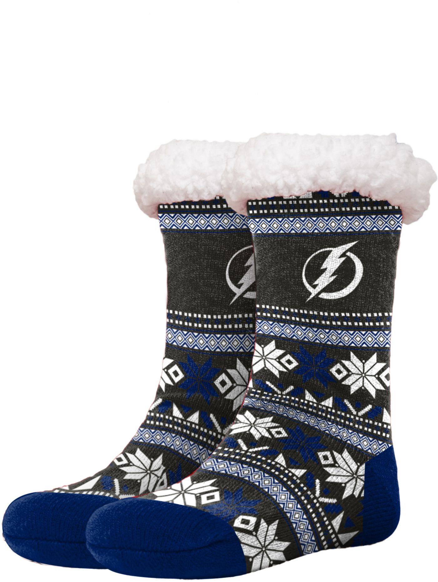 FOCO Tampa Bay Lightning Footy Slippers