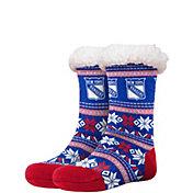 FOCO New York Rangers Footy Slippers