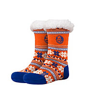 FOCO New York Islanders Footy Slippers