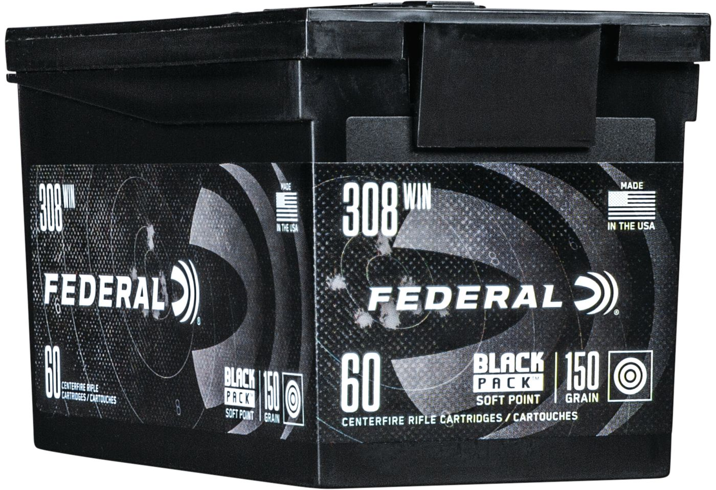Federal Black Pack Rifle Ammo