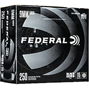 Federal Black Pack FMJ Handgun Ammo